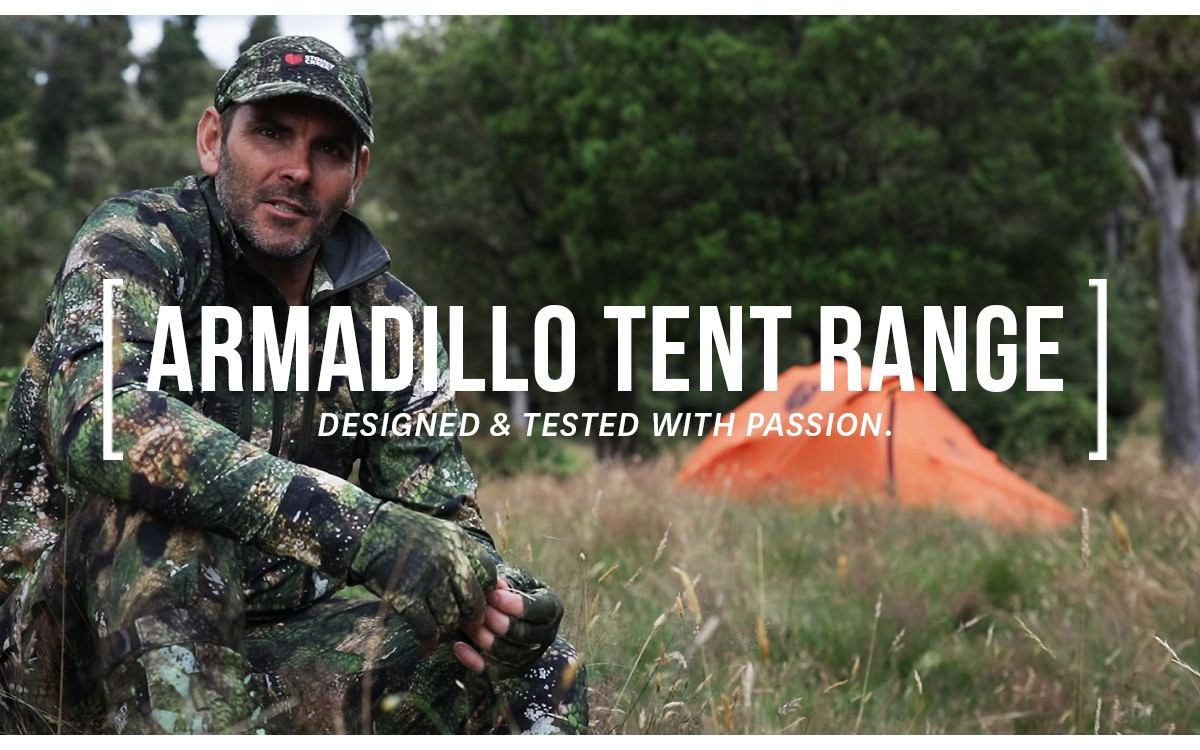 Armadillo Tent Range: Designed And Tested With Passion