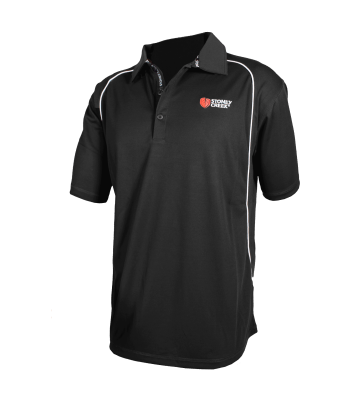 Men's Stirling Polo - Black