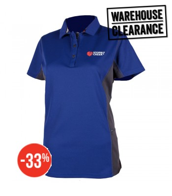 Womens Stirling Polo Navy/Storm