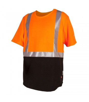 Hi Vis Performance Plus Bush Tee